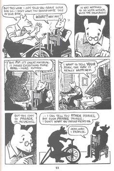 My favorite graphic novel, Maus by Art Spiegelman.