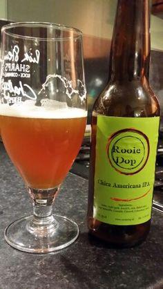Rooie Dop Chica Americana IPA #craftbeer #realale #ale #beer #beerporn #beerlove #Beergasm #DutchCraftBeer #DutchBeer #RooieDop #RooieDopChicaAmericanaIPA #ChicaAmericanaIPA
