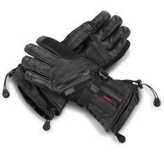 The Best Heated Gloves - These gloves were rated The Best by the Hammacher Schlemmer institute for generating the most heat, being the most comfortable, and having the longest battery life.