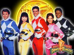 The original Mighty Morphin Power Rangers cast