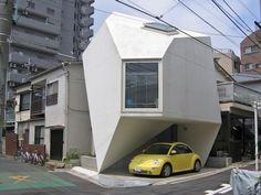 vivienda origami japon