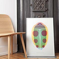 Beetle Poster - Grün