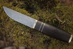 AMAZING KNIFE:) Finnish Puukko Damascus | by John Neeman Tools