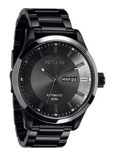 nixon watche (usually not a fan, but this is sleek)