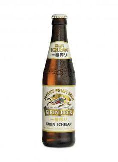 Kirin Ichiban lager - good!  Love the big bottles.