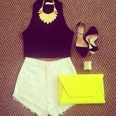 Summer Outfit. Wish I could have/pull off something like this