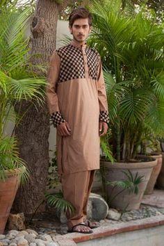 Best New Kurta Designs For Men | Deepak & Fahad Designer Eid Collection 2012