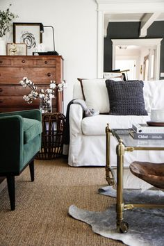 Cosy living room, via Jaclyn Paige on Tumblr.