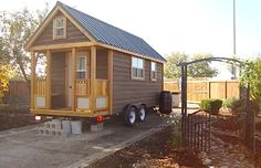 Building a Tiny House on a Trailer (Video)