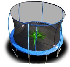 Exterior: Unfinished 12ft Trampoline With Enclosure from Why Choosing A 12 Trampoline Is Right