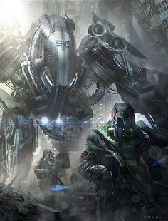 Sci-Fi Art: Get Out of My Way!!! - 2D Digital, Sci-fiCoolvibe – Digital Art