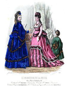 Le Moniteur de la Mode 1870
