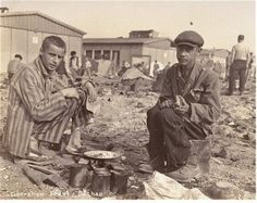 A black inmate at Dachau, Germany (concentration camp) photographed immediately after liberation. Pic credit: USHMM