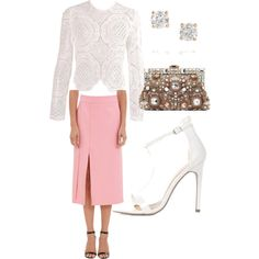 Burberry-esk long sleeved top ♥️ defiantly date-night attire! by nataliekemp on Polyvore featuring polyvore, fashion, style, Nina Ricci, Dolce&Gabbana and Anita Ko