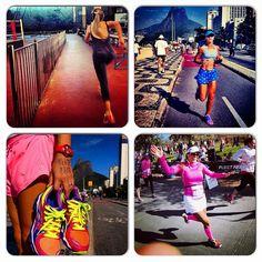 #atitudeboaforma: Top 4 corrida! @camilamutran @sylvinhapoz @Manuella Rangel @fabiolasenergy #boaforma #exercicios #corrida
