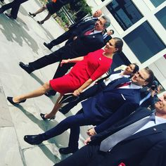 Crown Princess Victoria and Prince Daniel of Sweden arrive in Peru 10/19/2015