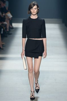 Narciso Rodriguez Spring 2014 Ready-to-Wear Fashion Show - Sam Rollinson
