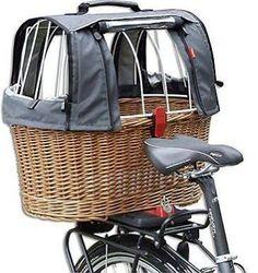 rear bike basket for dogs
