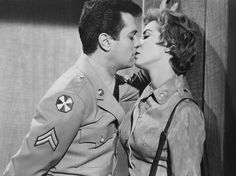 Tony Curtis as Cpl. Paul Hodges in Blake Edward's The Perfect Furlough opposite real-life wife Janet Leigh as Lt. Vicki Loren.           Lt. Vicki Loren: We just violated Article 93 Section 7.    Cpl. Paul Hodges: Have we?    Lt. Vicki Loren: No enlisted man shall kiss or embrace a superior officer.    Cpl. Paul Hodges: Shall we turn ourselves in?