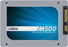 [OLD MODEL] Crucial M500 960GB SATA 2.5-Inch 7mm (with 9.5mm adapter) Internal Solid State Drive CT960M500SSD1