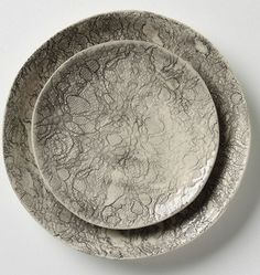I love this lacey plates from anthropologie!