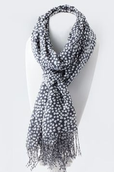 https://www.krisandkate.com/dealoftheday.html  Sweet white heart print  #Deal in Scarves #Spring Trend Scarves $19
