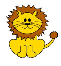 cartoon golden lion clip art vector clip art online royalty free rh pinterest com free lion clipart black and white free lion clipart images