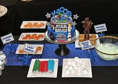 Amanda's Parties TO GO: Star Wars Birthday Party