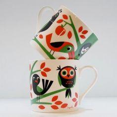 Ingela P Arrhenius Porcelain Tree Mug