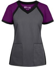 Scrubs Uniform, Uniform Shirts, Work Shirts, Staff Uniforms, Medical Uniforms, Grey's Anatomy, Cleaning Uniform, Beauty Uniforms, Cute Scrubs