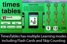 Multiplication drill and practice style app, only costs $0.99