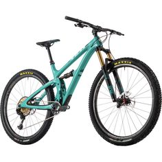 Yeti Cycles SB4.5 Turq XX1 Eagle Complete Mountain Bike - 2017 Turquoise, M ✅ Aggressively sculpted and striking in aesthetic form, the Yeti SB4. 5 Turq XX1 Eagle Complete Mountain Bike is certainly one of the most alluring mountain