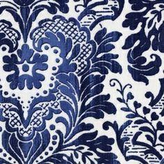 Dear Stella House Designer - Stella Linen Cottons - Stella-Linen91 in Blue