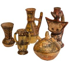 Collection of Ideqqi Berber Pottery 1