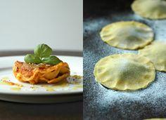 Ravioli hausgemacht mit Tomatensauce. #Ravioli #Pasta
