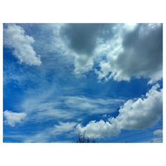 #hot#summer#blue#sky again:-) #clouds#weather#philippines#青空#空#雲#フィリピン