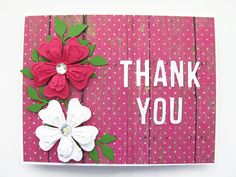 Hey, I found this really awesome Etsy listing at https://www.etsy.com/listing/237154749/thank-you-card-thank-you-flower-card