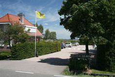 Ingang Caravanpark Holland, Sidewalk, Camping, Campsite, Netherlands, Walkways, The Netherlands, Outdoor Camping, Campers