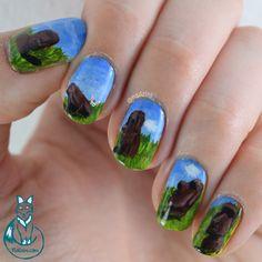 Nailzini: A Nail Art Blog: Easter Island Nail Art