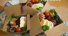 Bento Kids, Bento Box Lunch, Bento Recipes, Healthy Recipes, Food Packaging Design, Food Platters, Cafe Food, Aesthetic Food, Food Inspiration