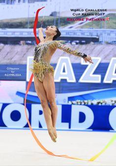 Salome PAZHAVA (Georgia)🇬🇪 ~ Ribbon @ World Challenge Cup Kazan 2017🇷🇺💞💞   Photographer 🇷🇺Oleg Naumov (Russia).