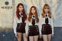 """GFRIEND 4th Mini Album ""THE AWAKENING"" Teaser Image – Sowon, Umji & Yerin  """