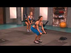 Jillian Michaels - Ripped In 30 (Week 1). There are 4 videos in total and they really work you HARD!