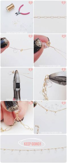 DIY crystal headpiece tutorial is up on TheBeautyDepartment.com