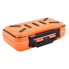 Acekit Waterproof Fishing Tackle Box For Lures Lake Bait Casting Fishing - Orange  http://fishingrodsreelsandgear.com/product/acekit-waterproof-fishing-tackle-box-for-lures-lake-bait-casting-fishing/?attribute_pa_color=orange  There are 4 trays could be DIY into smaller 8 trays with the insert pieces Size of the max tray: 2.8*1.1 inch for lure bait Material:ABS engineering plastics and transparent plastic