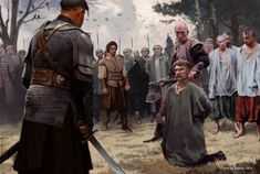 Warrior 2, British History, Ww2, Poland, Medieval, Illustration, Painting, Fictional Characters, Larp