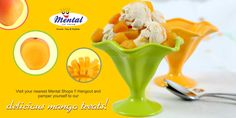 Can't resist the temptation of delicious mangoes?  Visit your nearest Mental Shops!! Hangout and pamper yourself to our delicious mango treats!