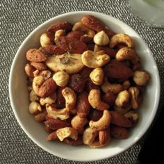Making these fabulous savory roasted nuts for gifts!