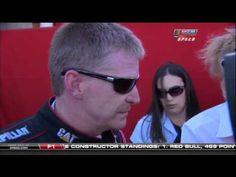 2010 AAA Texas 500 - Caution + Jeff Gordon & Jeff Burton Fight. (LIVE) - YouTube
