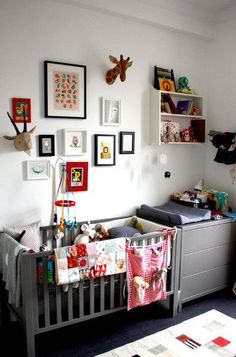 On Trend: Animal Heads in Kids Rooms